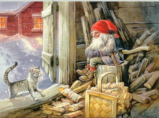 God jul din snopp ar for liten